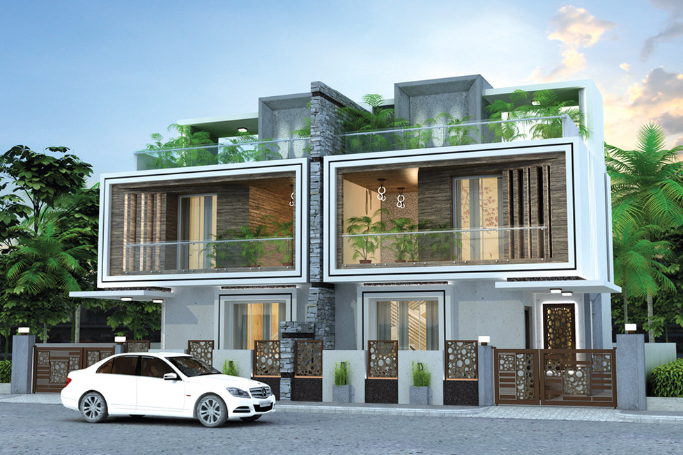 Pioneer Orion 4 BHK Bungalow